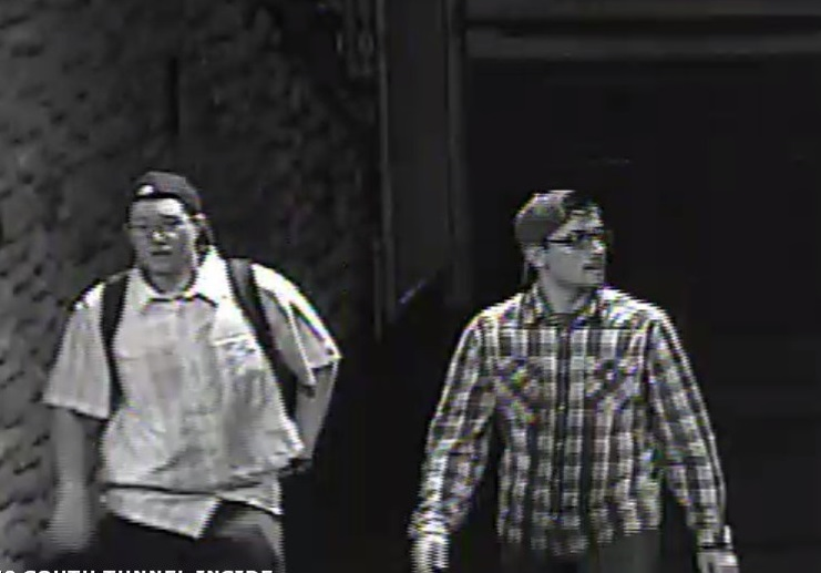 Persons of interest, attempt to identify